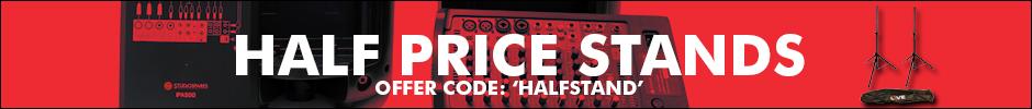 Half Price Stand Banner