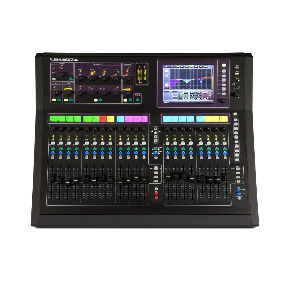 allen heath gld 80 digital mixing desk digital mixers studio gear studiospares. Black Bedroom Furniture Sets. Home Design Ideas