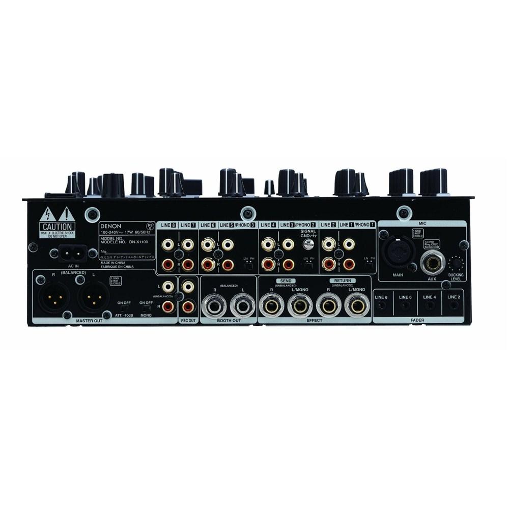 Denon DN-X1100 DJ Mixer - DJ Mixers - Performance - Studiospares