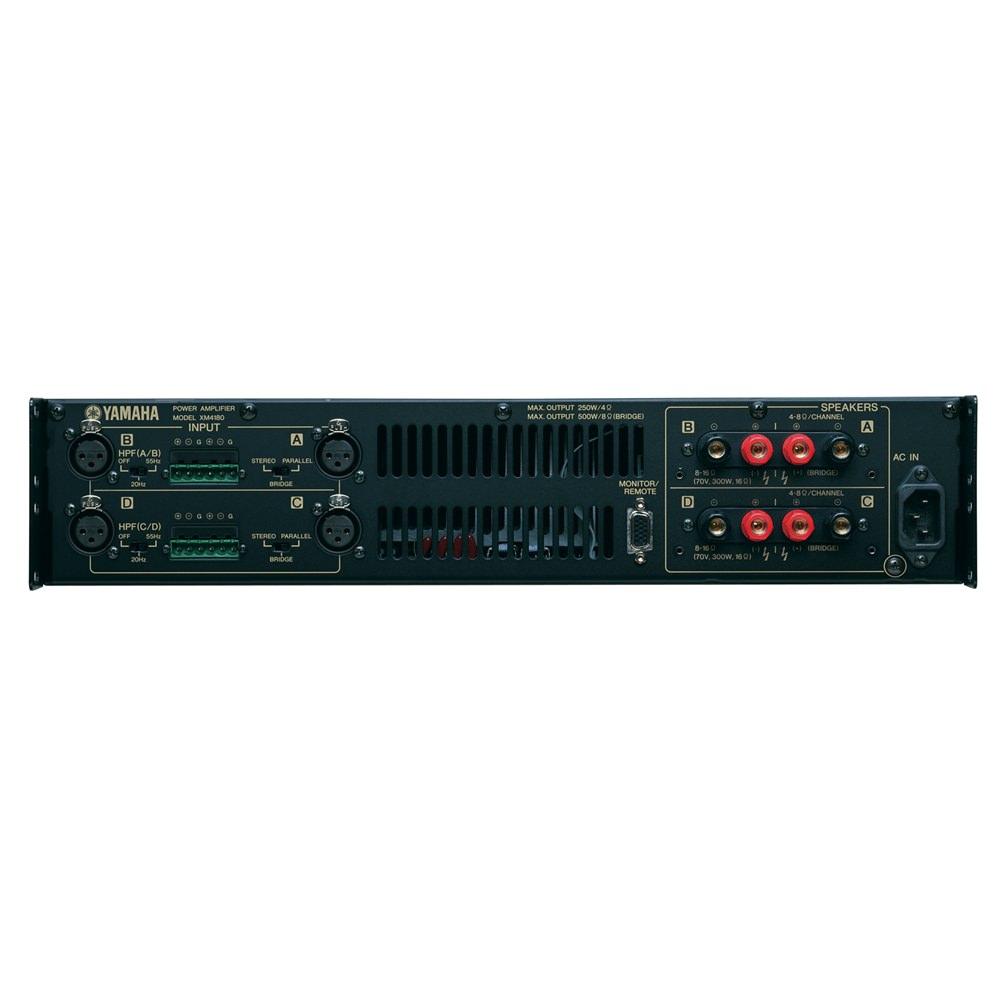 yamaha xm4180 4 channel amplifier power amplifiers studio gear studiospares. Black Bedroom Furniture Sets. Home Design Ideas