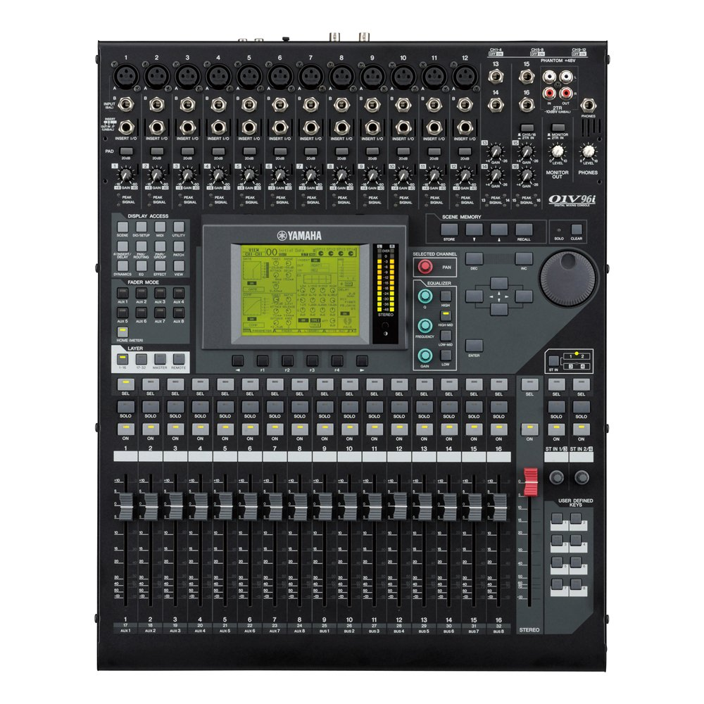 yamaha 01v96i digital mixer 24 96 digital mixers studio gear studiospares. Black Bedroom Furniture Sets. Home Design Ideas