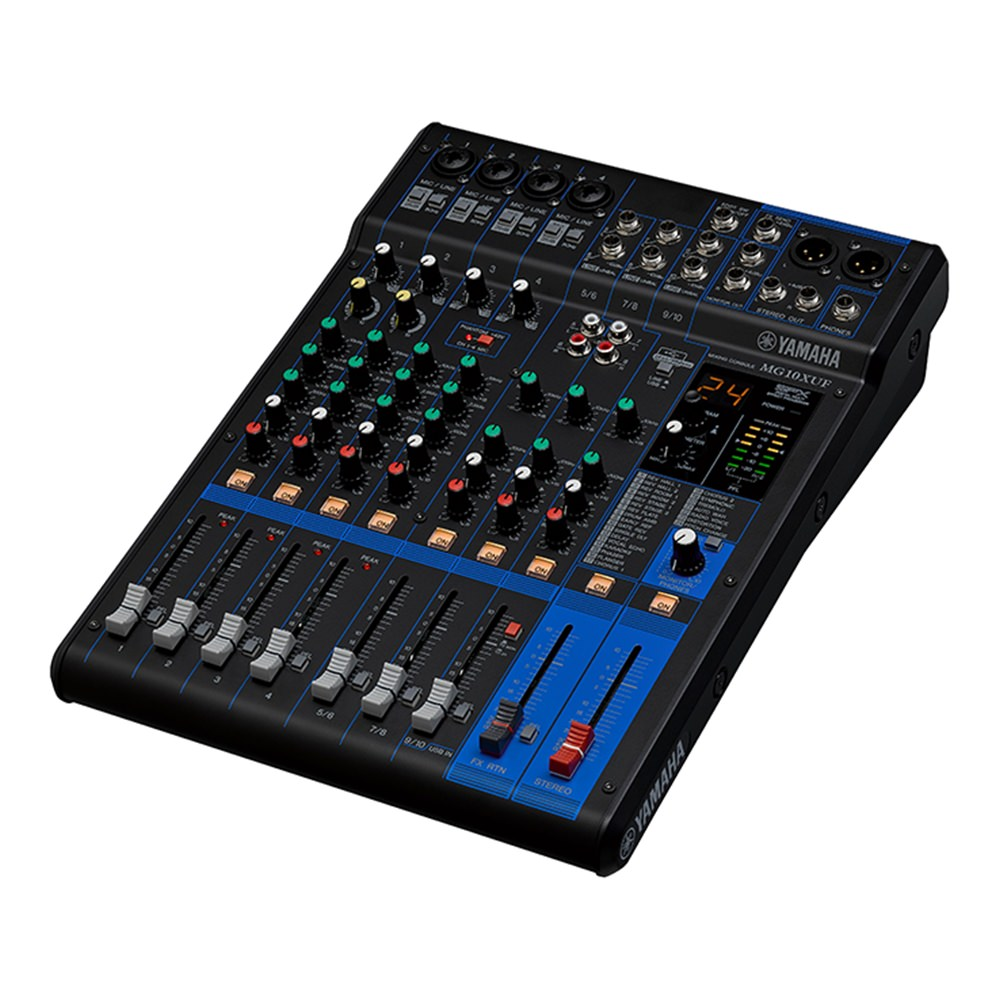 Yamaha MG10XUF Mixer - DJ Mixers - Performance - Studiospares