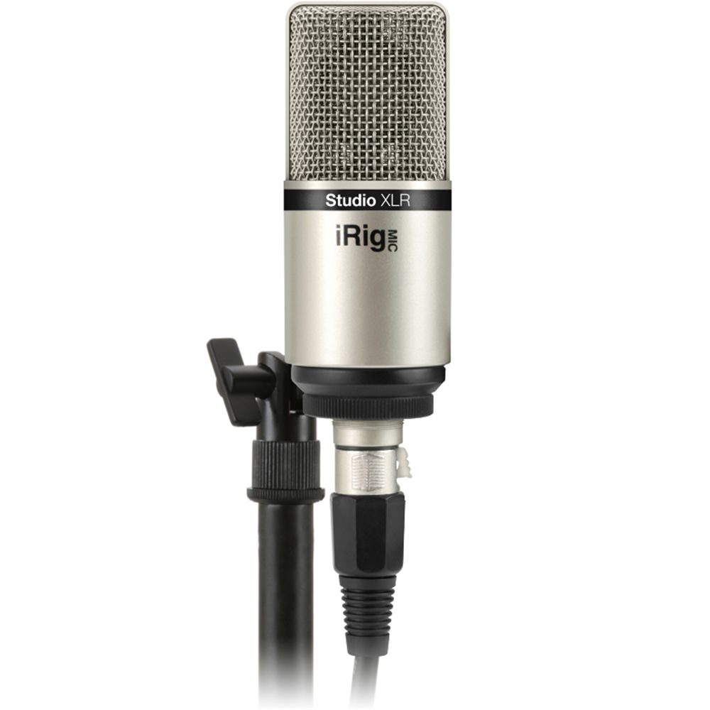ik multimedia irig mic studio xlr studio vocal microphones microphones studiospares. Black Bedroom Furniture Sets. Home Design Ideas