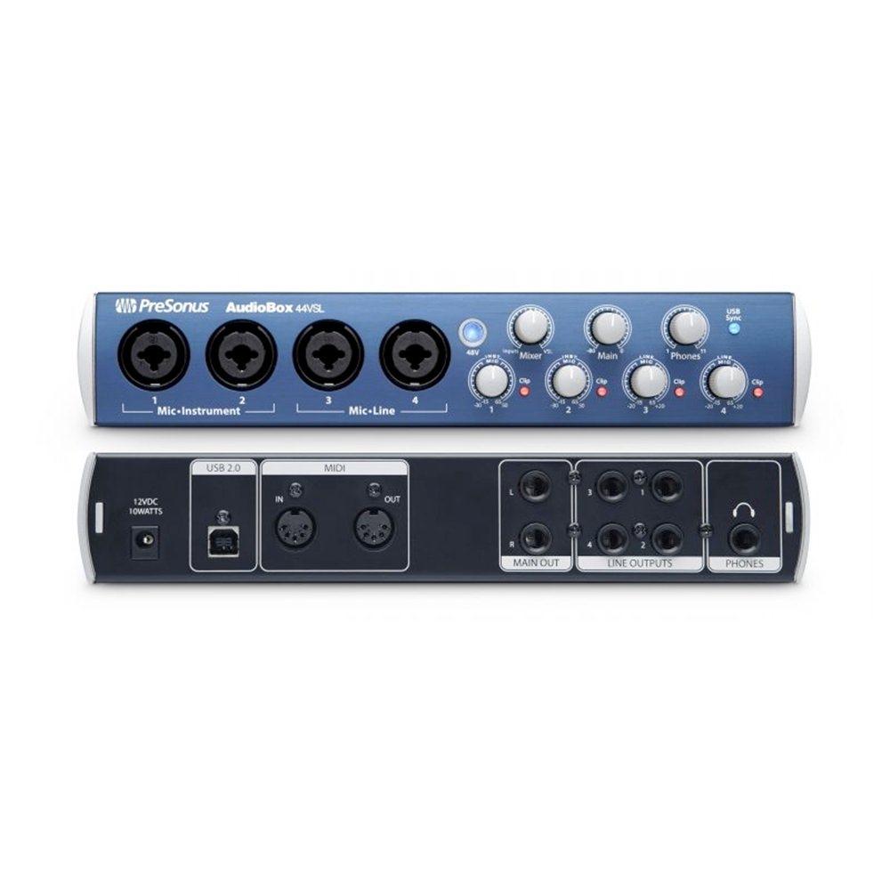 presonus audiobox 44vsl audio interface audio interfaces studio gear studiospares. Black Bedroom Furniture Sets. Home Design Ideas