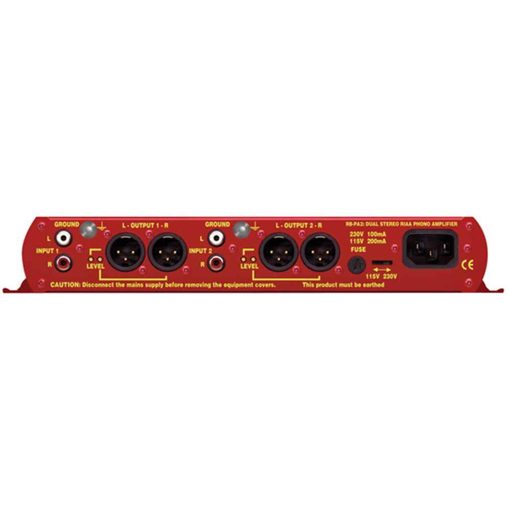Sonifex RB-PA2 Dual Stereo RIAA Phono Preamp - Studiospares