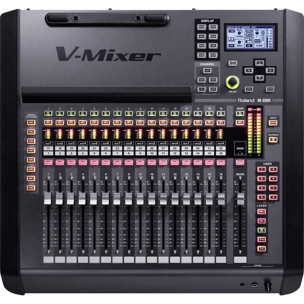 Roland M 200i 32 Channel Live Digital Mixer Digital