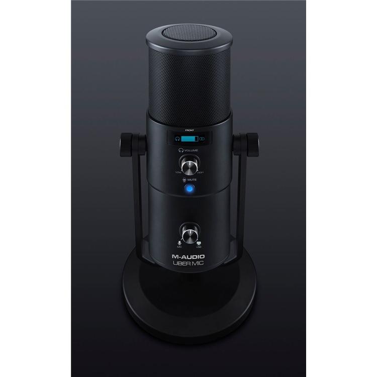 M-Audio Uber Pro USB Mic - USB Mics - Microphones - Studiospares