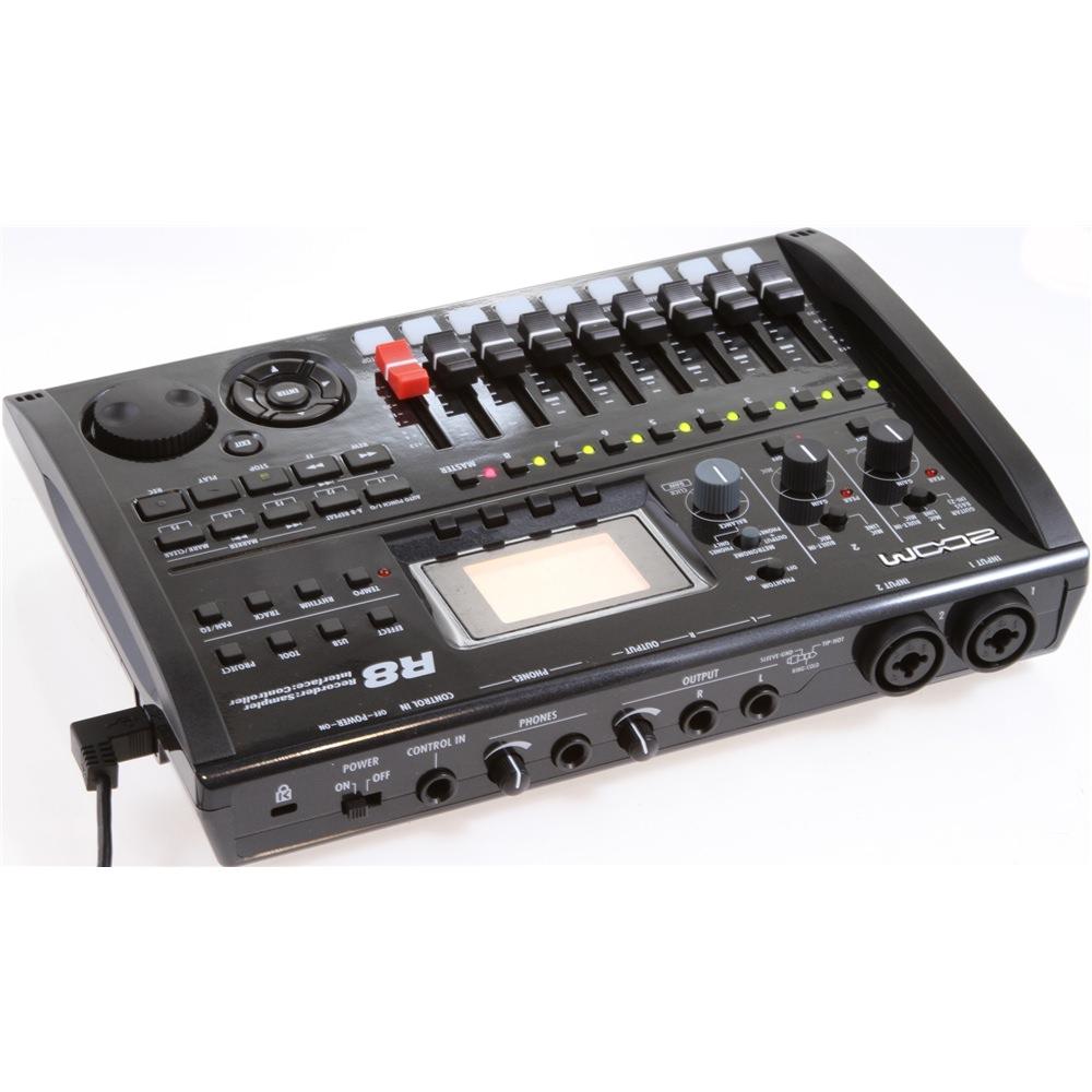 zoom r8 recorder sampler interface portastudio recorders studio gear studiospares. Black Bedroom Furniture Sets. Home Design Ideas