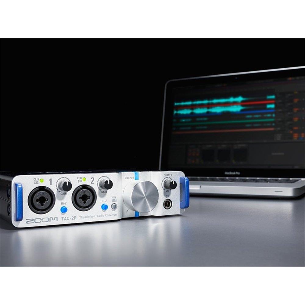 zoom tac 2r thunderbolt audio interface studiospares. Black Bedroom Furniture Sets. Home Design Ideas