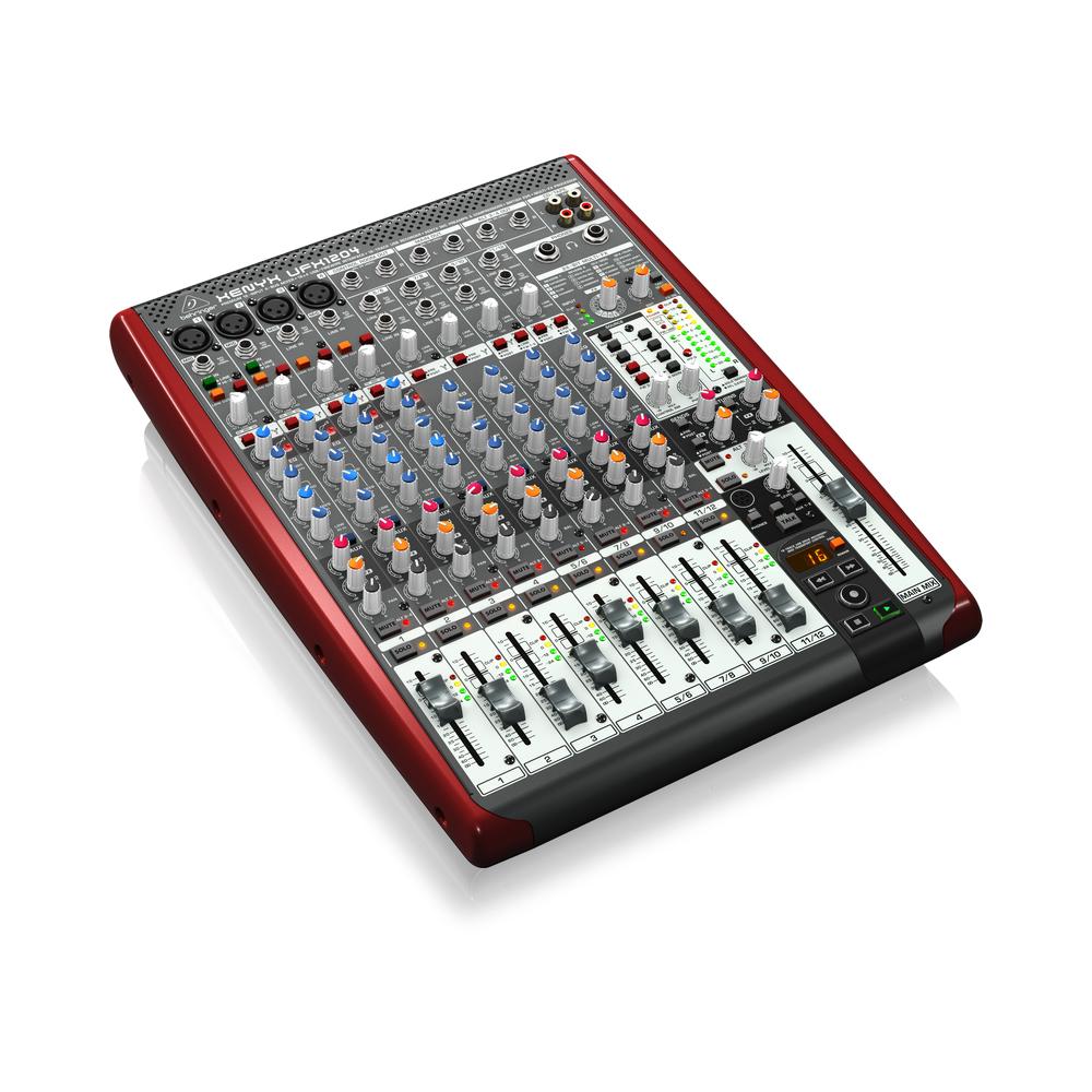 behringer ufx1204 8 channel mixer analogue mixers studio gear studiospares. Black Bedroom Furniture Sets. Home Design Ideas
