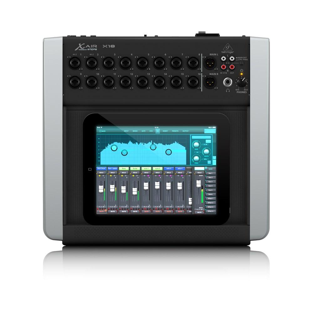 behringer x air x18 digital mixer digital mixers studio gear studiospares. Black Bedroom Furniture Sets. Home Design Ideas