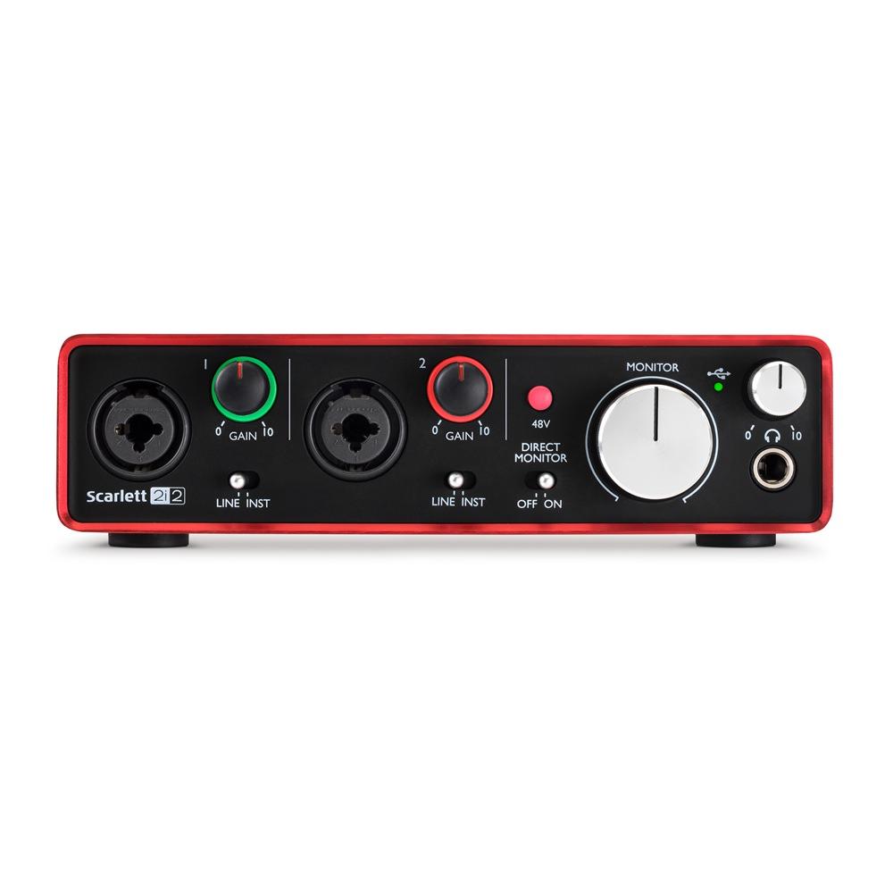 focusrite scarlett 2i2 2nd gen audio interfaces studio gear studiospares. Black Bedroom Furniture Sets. Home Design Ideas