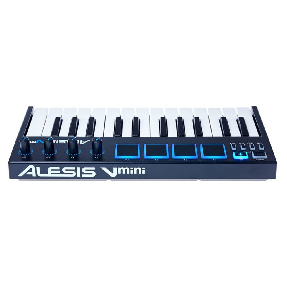 alesis v mini usb midi keyboard midi controllers studio gear studiospares. Black Bedroom Furniture Sets. Home Design Ideas