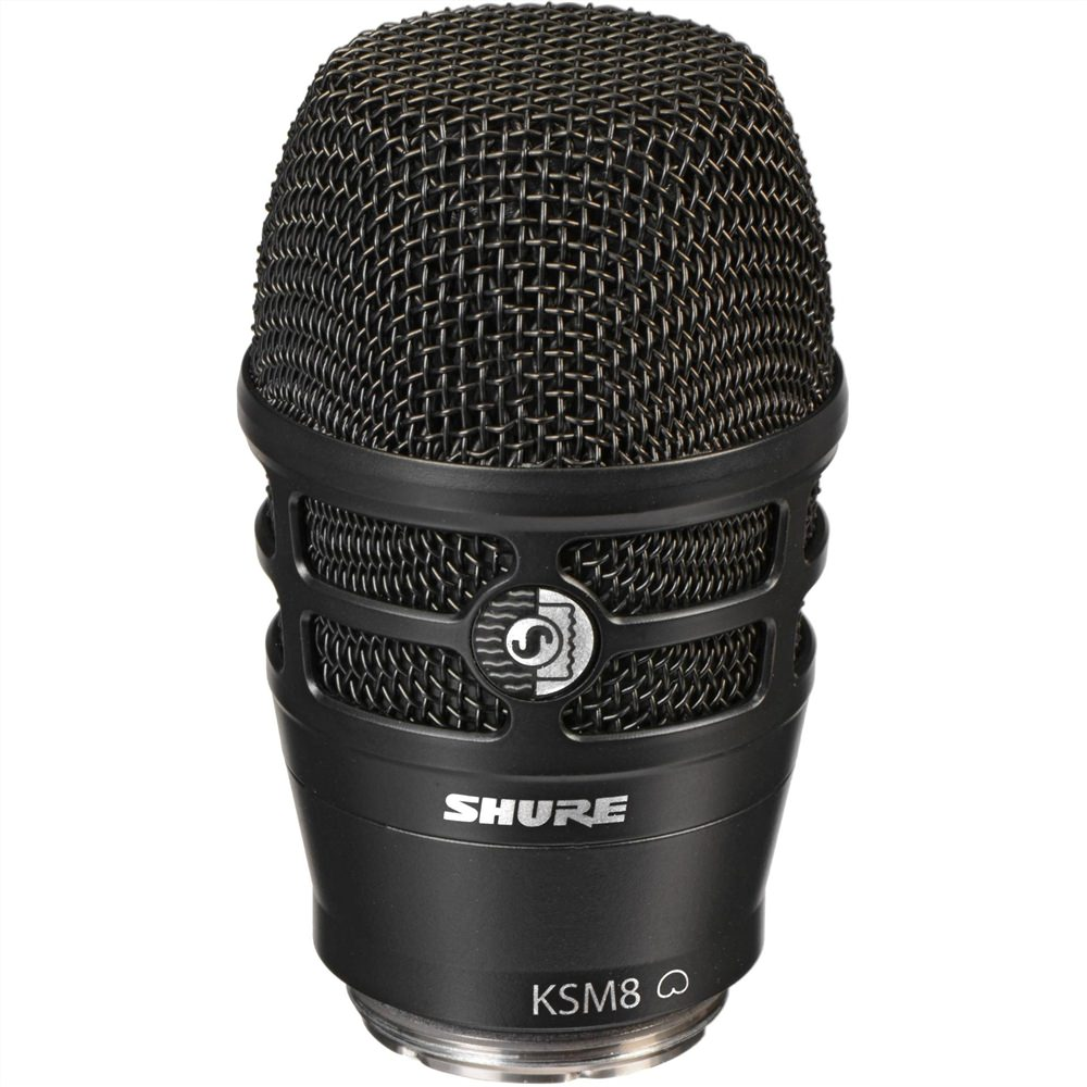 shure ksm8 handheld dynamic mic black new in microphones studiospares. Black Bedroom Furniture Sets. Home Design Ideas
