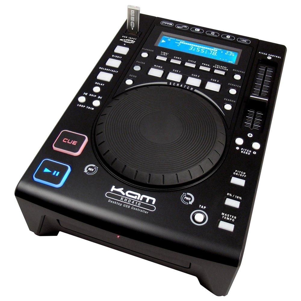 kam khd410 usb scratch controller dj cd players performance studiospares. Black Bedroom Furniture Sets. Home Design Ideas