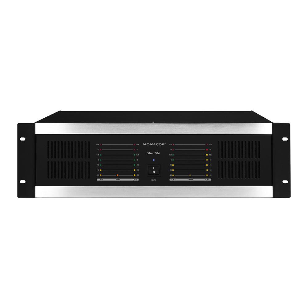 Stageline Sta 1504 4 Channel 900w Power Amp Amplifiers Four Amplifier