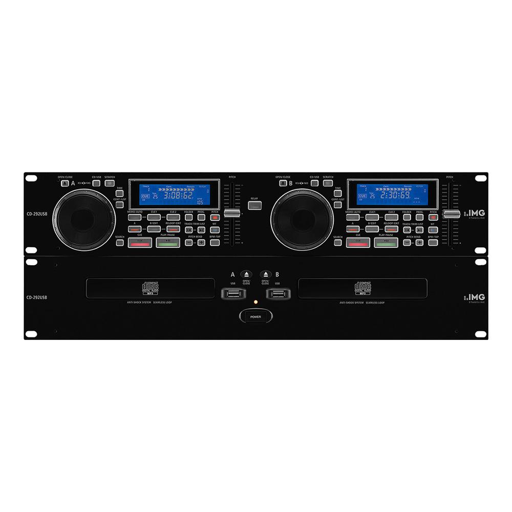 stageline cd 292 usb dual dj cd player dj cd players performance studiospares. Black Bedroom Furniture Sets. Home Design Ideas