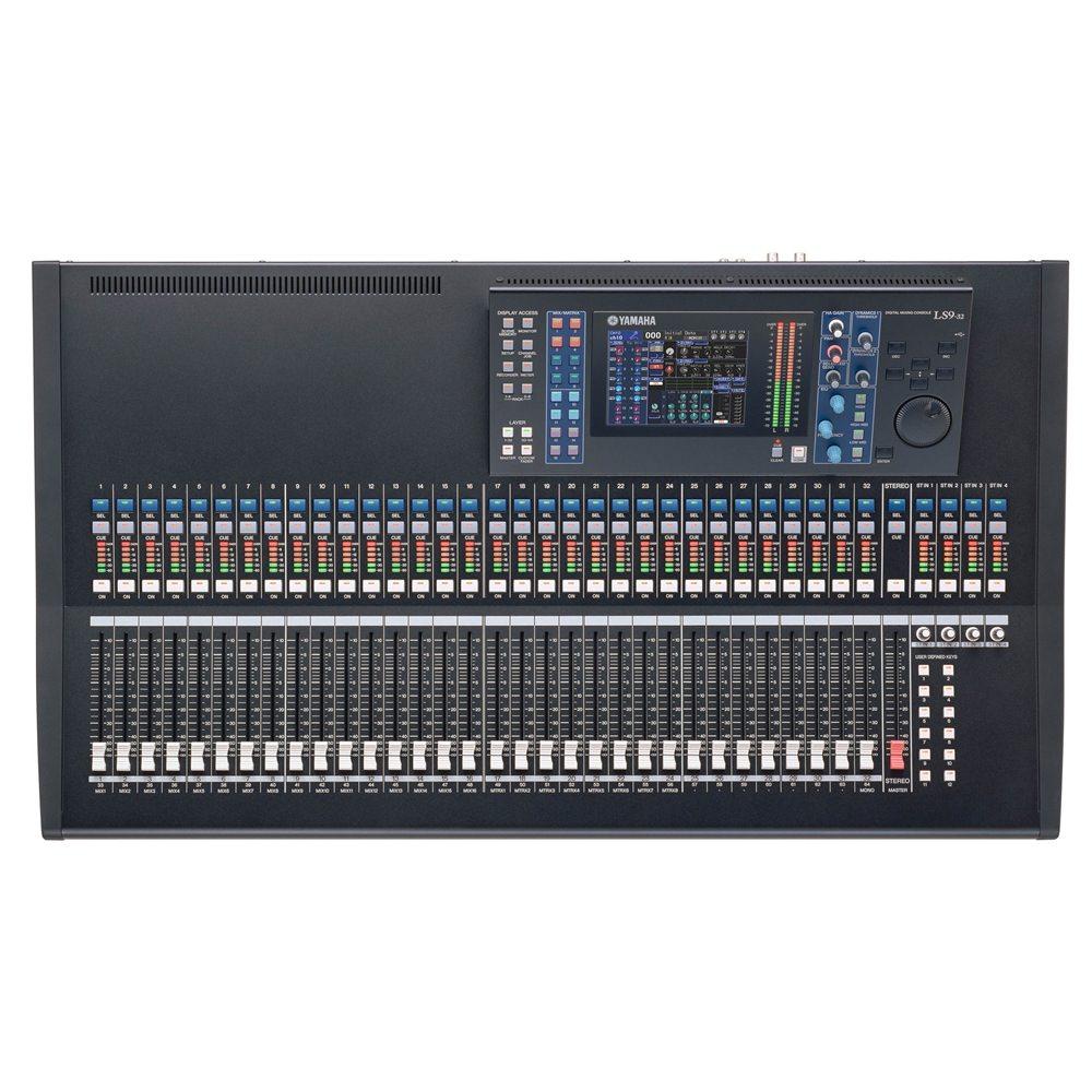 yamaha ls9 32 digital mixer digital mixers studio gear studiospares. Black Bedroom Furniture Sets. Home Design Ideas
