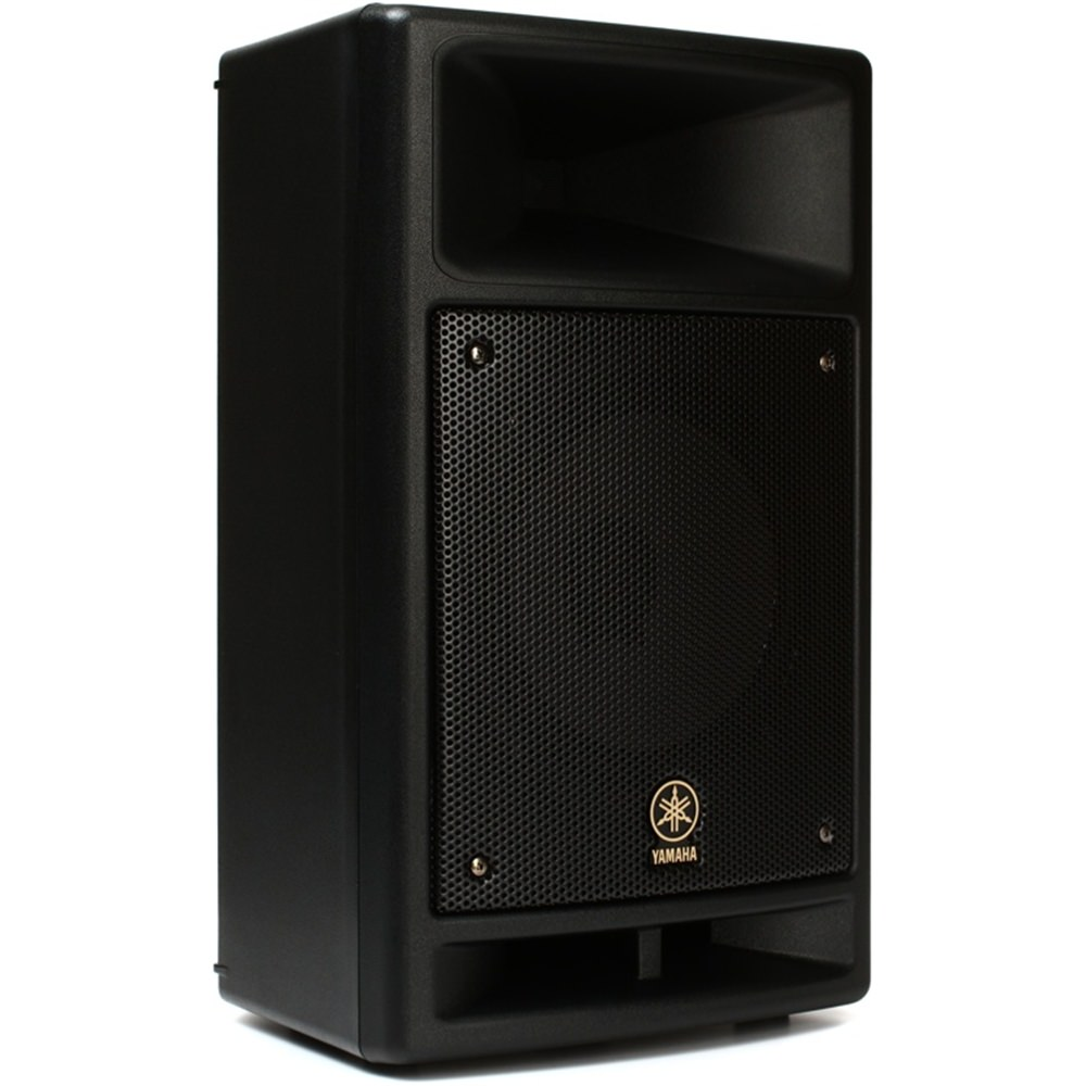 Yamaha msr100 powered active pa speaker system pa for Yamaha speakers system