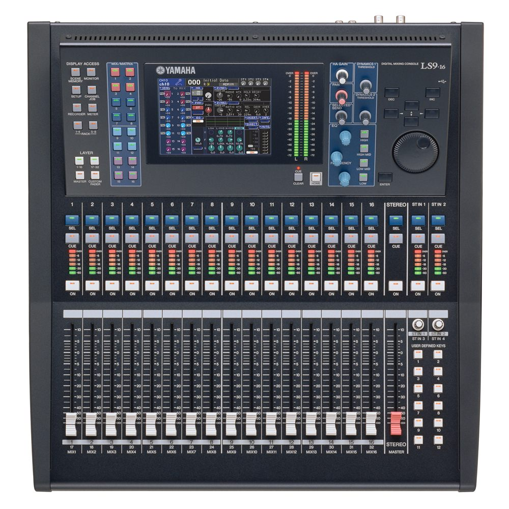 yamaha ls9 16 digital mixer digital mixers studio gear studiospares. Black Bedroom Furniture Sets. Home Design Ideas