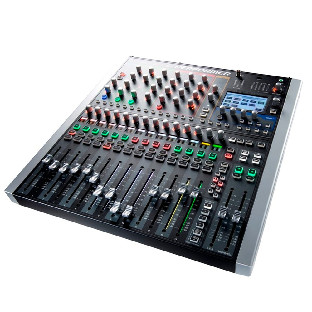soundcraft si performer 1 16 channel digital mixer digital mixers studio gear studiospares