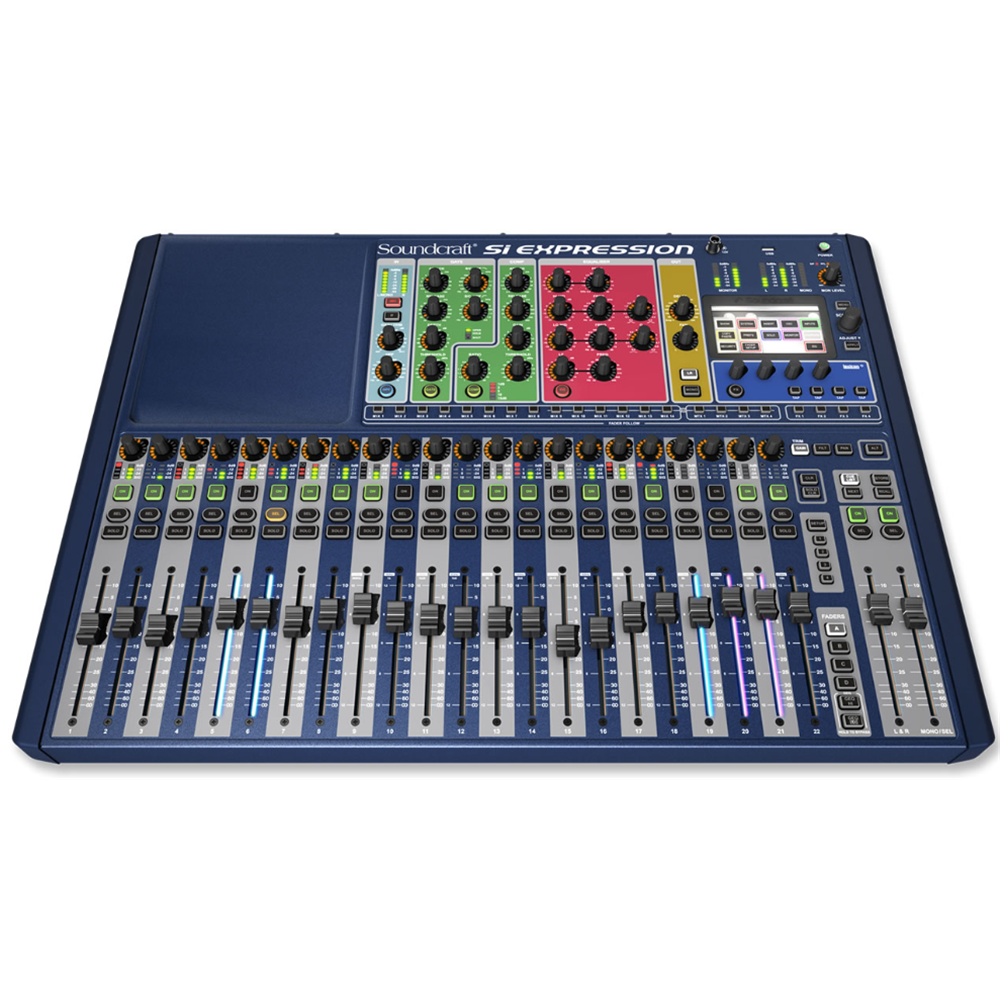 soundcraft si performer 2 24 channel digital mixer digital mixers studio gear studiospares. Black Bedroom Furniture Sets. Home Design Ideas