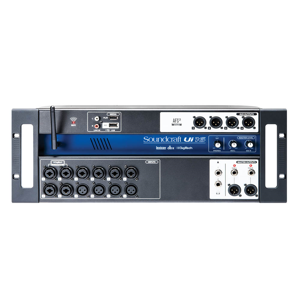 soundcraft ui16 remote control digital mixer studiospares. Black Bedroom Furniture Sets. Home Design Ideas