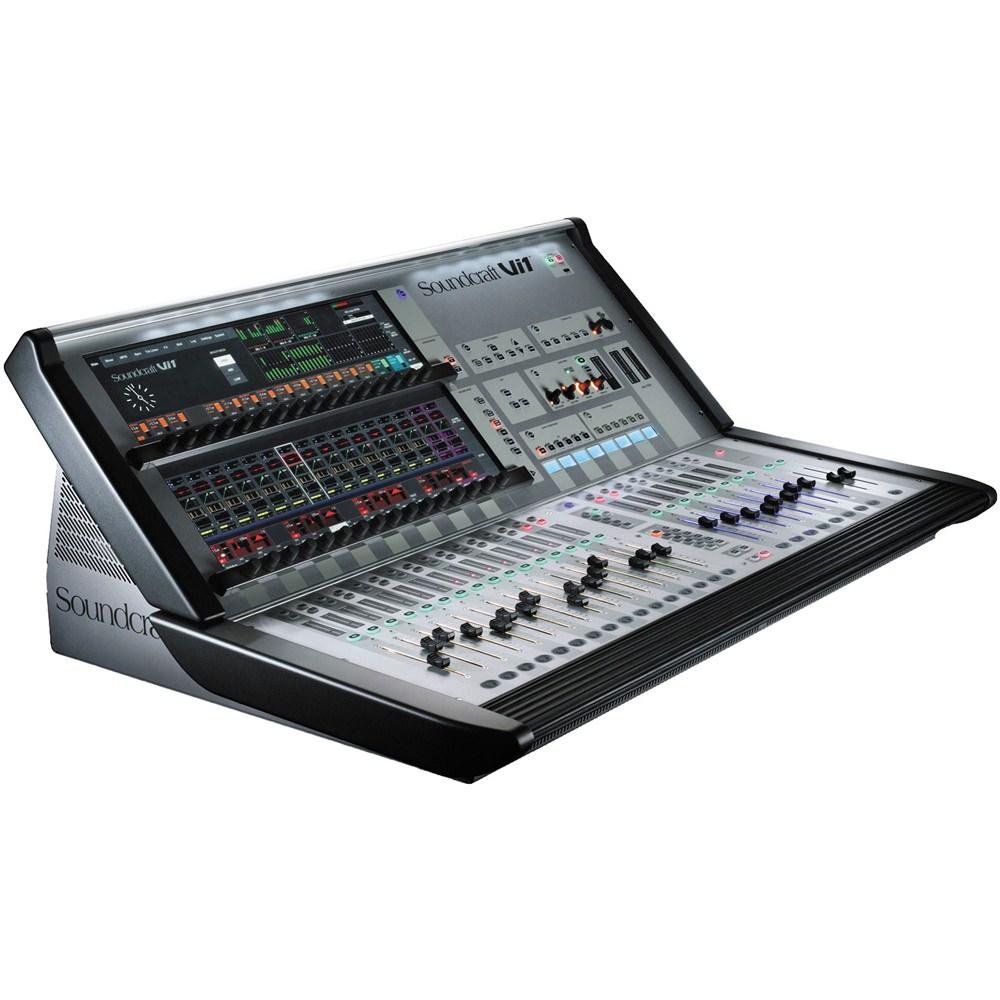 soundcraft vi1 digital mixing console digital mixers studio gear studiospares. Black Bedroom Furniture Sets. Home Design Ideas