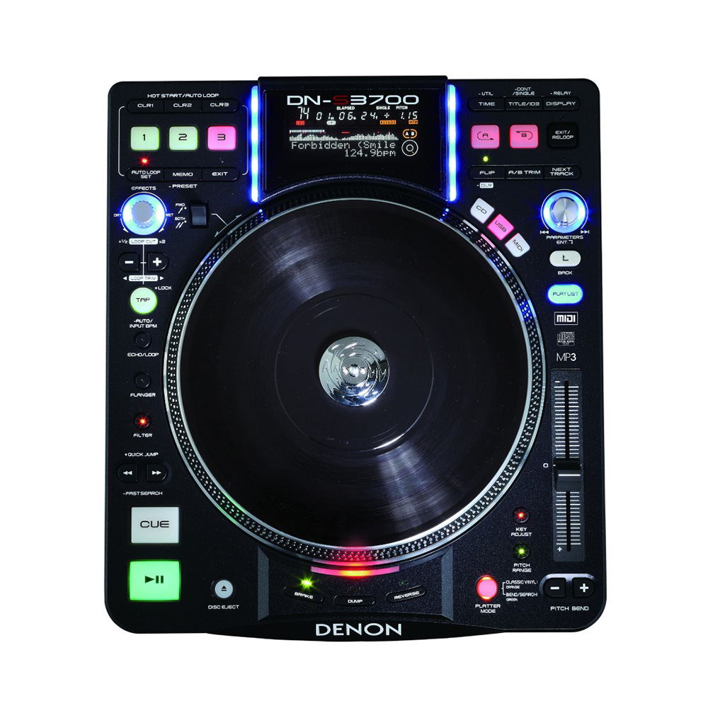 denon dn s3700 dj cd player dj cd players performance studiospares. Black Bedroom Furniture Sets. Home Design Ideas