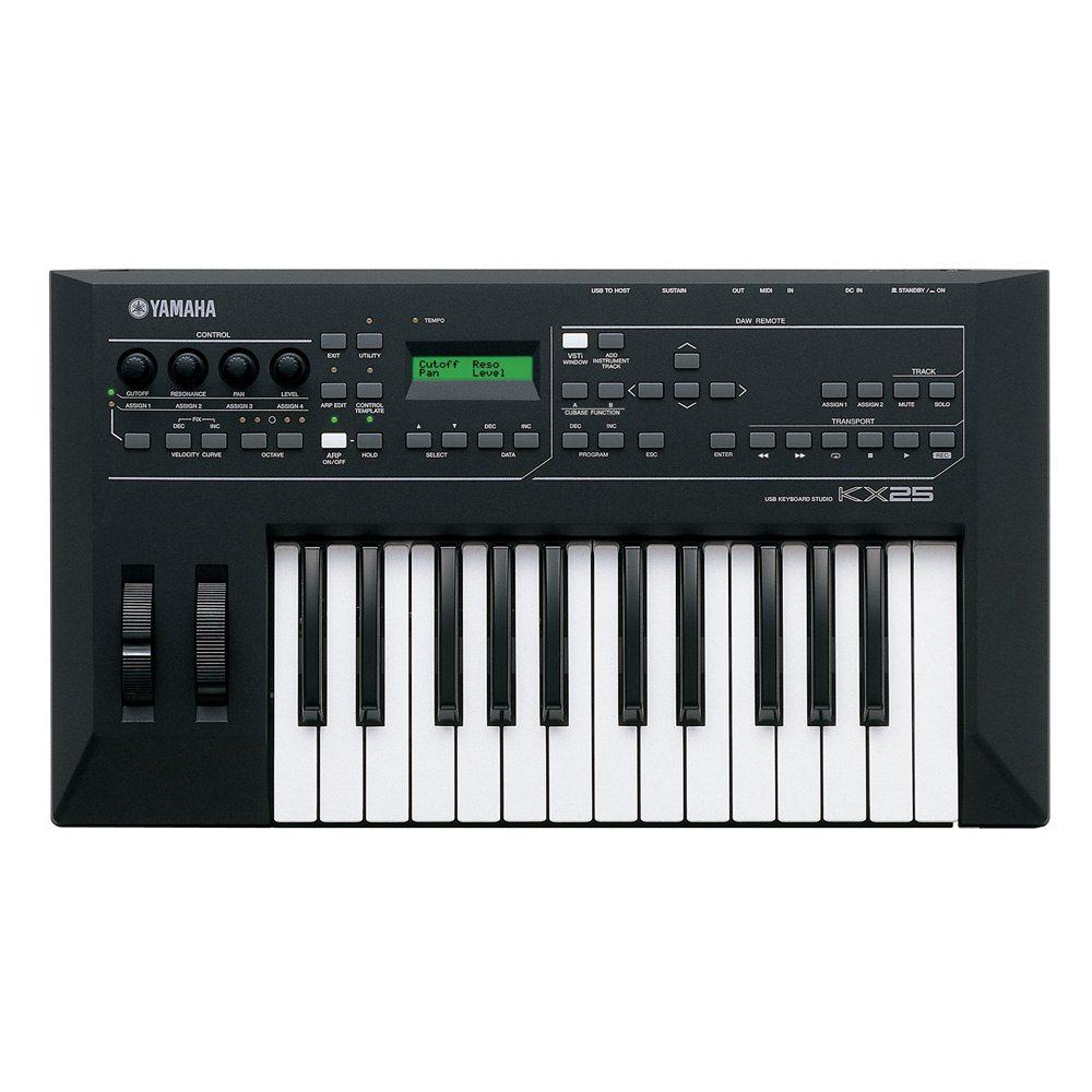 yamaha kx25 usb midi keyboard midi controllers studio