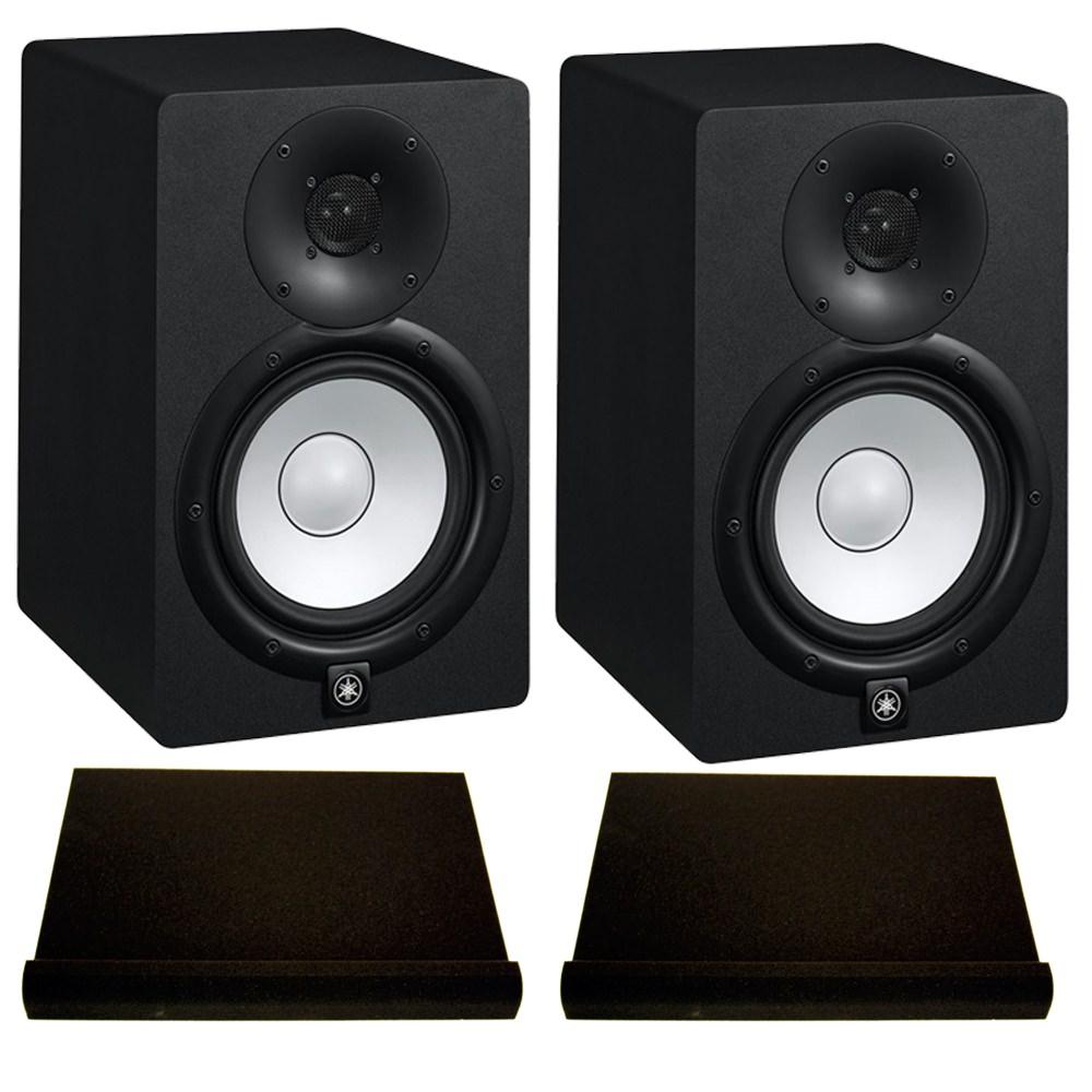 Yamaha hs8 studio monitors isolation bundle studio for Yamaha hs8 studio monitor speakers