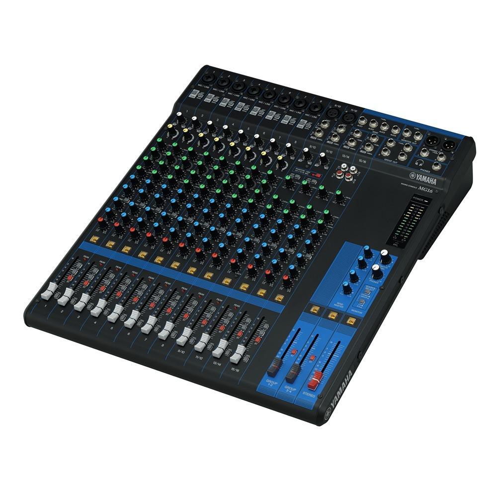 yamaha mg16 16 6 mixer analogue mixers studio gear studiospares. Black Bedroom Furniture Sets. Home Design Ideas
