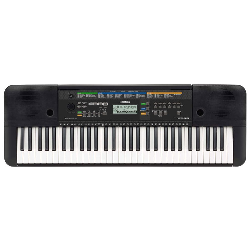 Yamaha psre263 portable keyboard synths pianos for Yamaha professional keyboard price