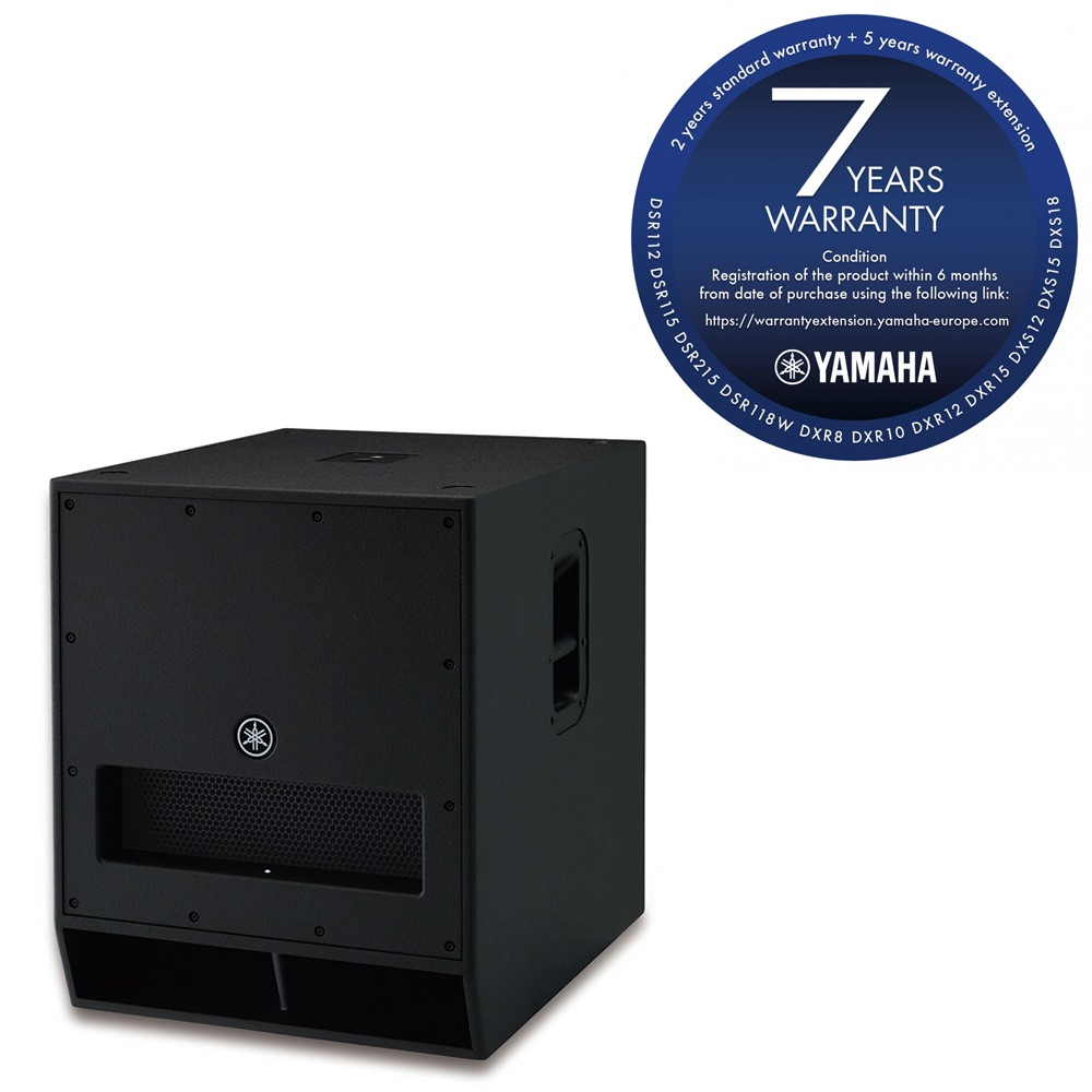 yamaha dxs18 pa subwoofer power amplifiers studio gear studiospares. Black Bedroom Furniture Sets. Home Design Ideas