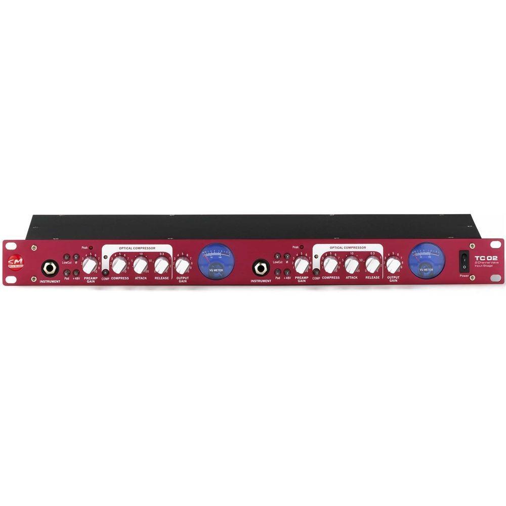 SM Pro TC02 2 Channel Tube Preamp/DI Box