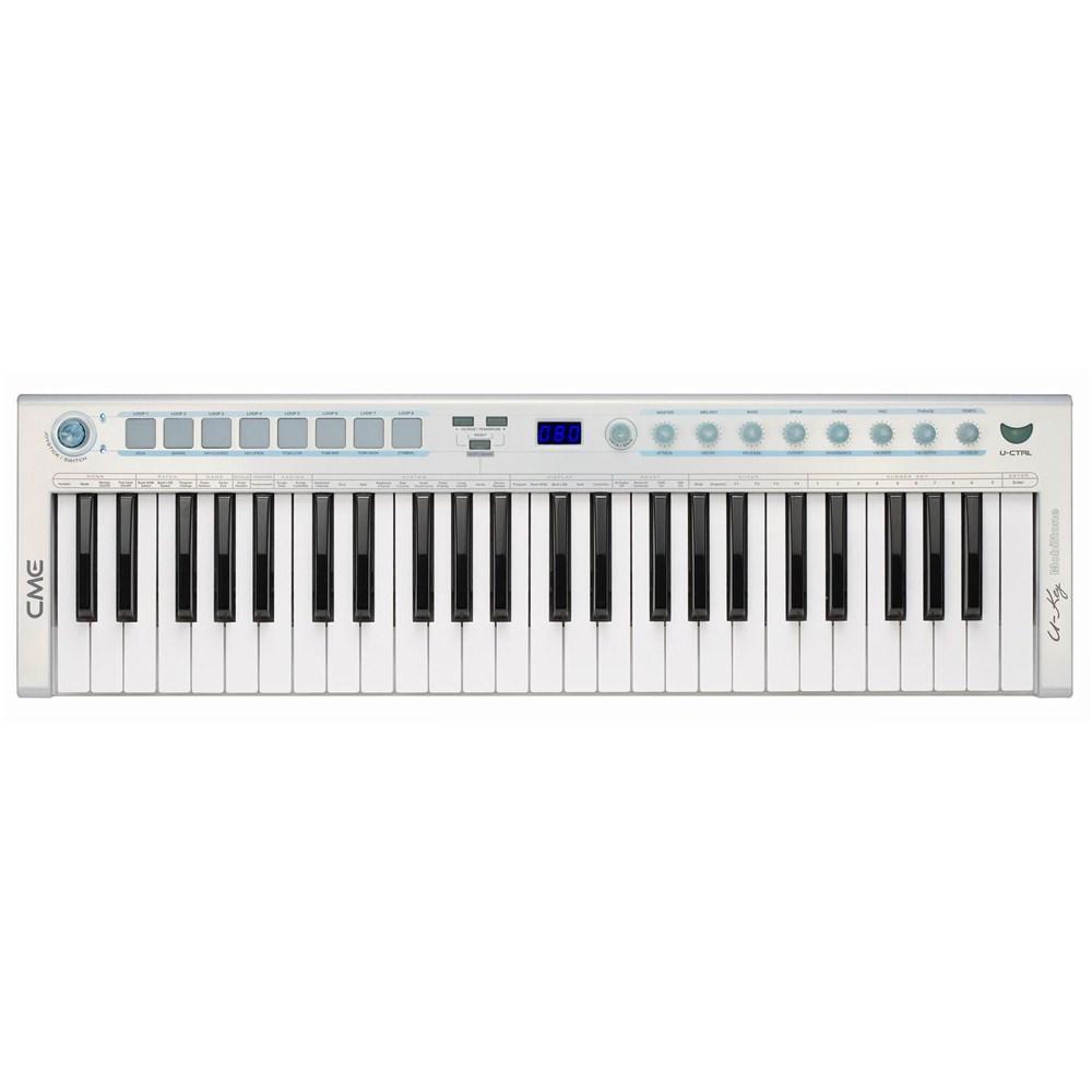 Pdf manual for cme music keyboard u-key.