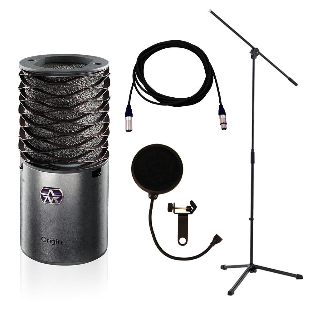 aston origin stand lead pop filter recording bundle studiospares. Black Bedroom Furniture Sets. Home Design Ideas