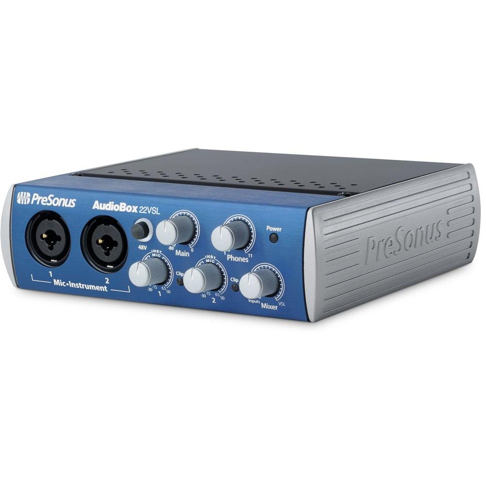 presonus audiobox 22vsl audio interface audio interfaces studio gear studiospares. Black Bedroom Furniture Sets. Home Design Ideas
