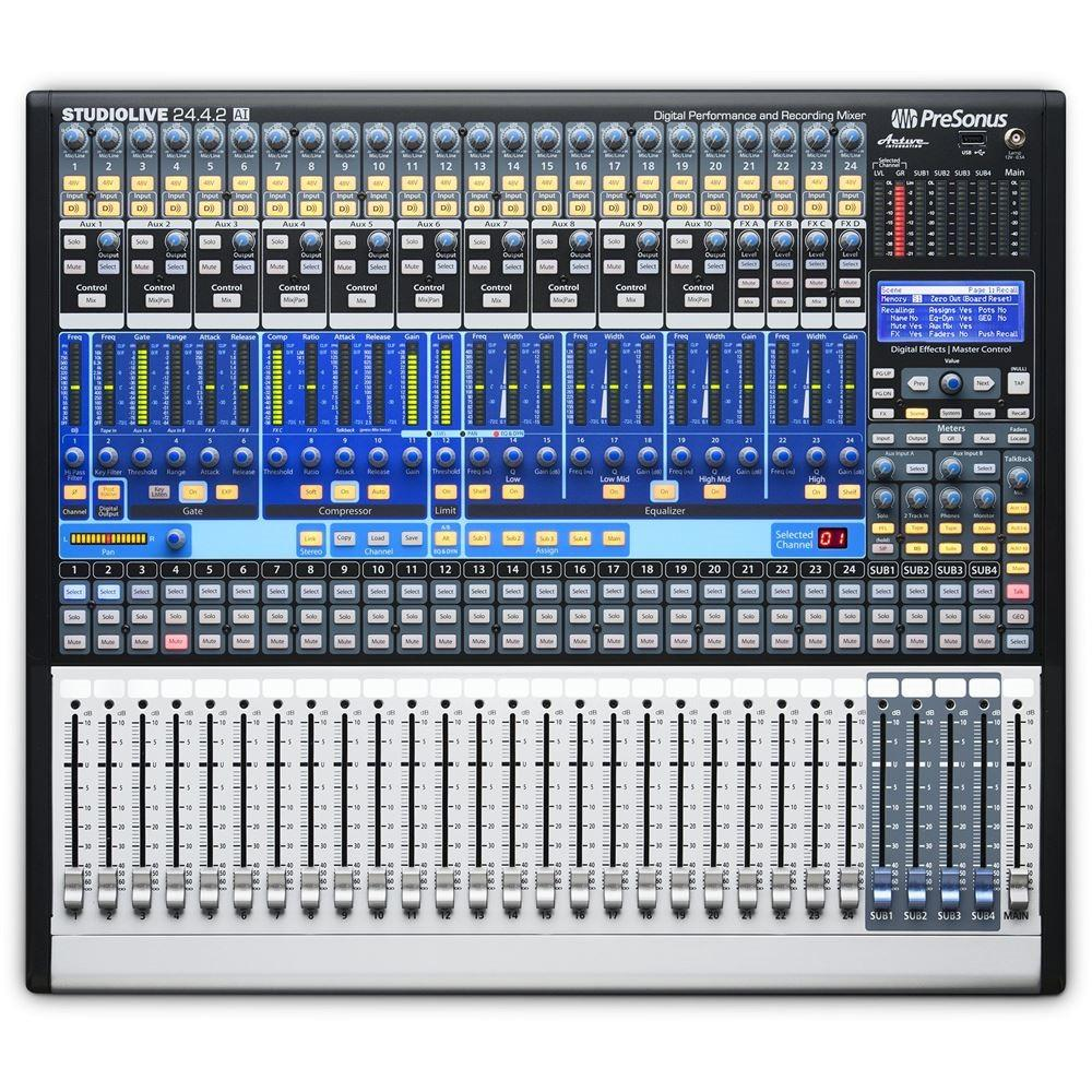 presonus studiolive 24 4 2ai digital mixer digital mixers studio gear studiospares. Black Bedroom Furniture Sets. Home Design Ideas