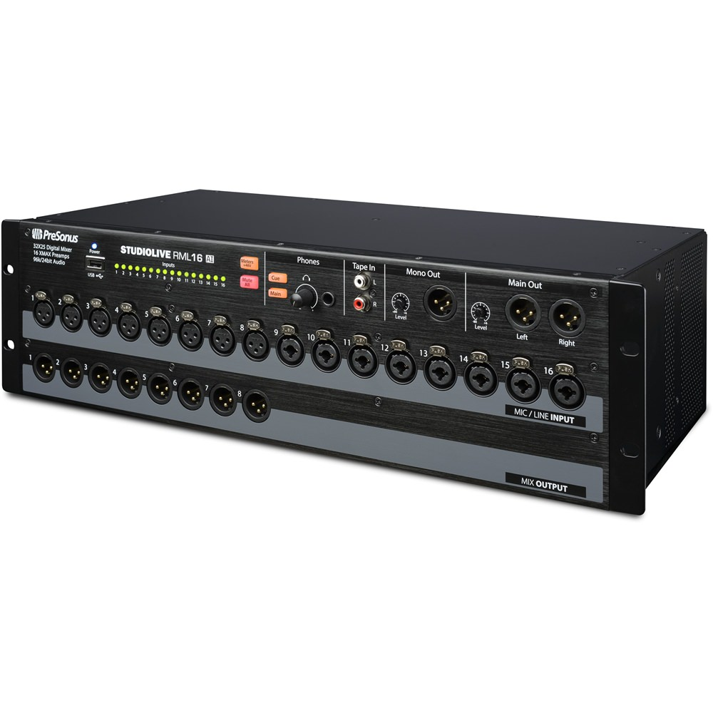 presonus studiolive rml16ai rackmount digital mixer digital mixers studio gear studiospares. Black Bedroom Furniture Sets. Home Design Ideas