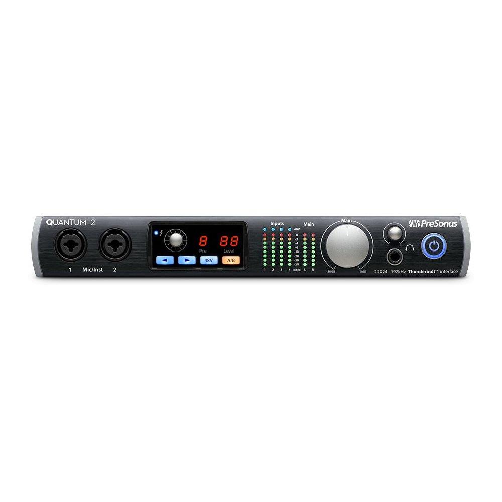 presonus quantum 2 thunderbolt audio interface audio interfaces studio gear studiospares. Black Bedroom Furniture Sets. Home Design Ideas