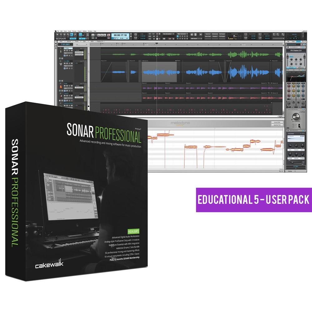 Cakewalk Sonar Professional EDU Lab Pack (5 - User)