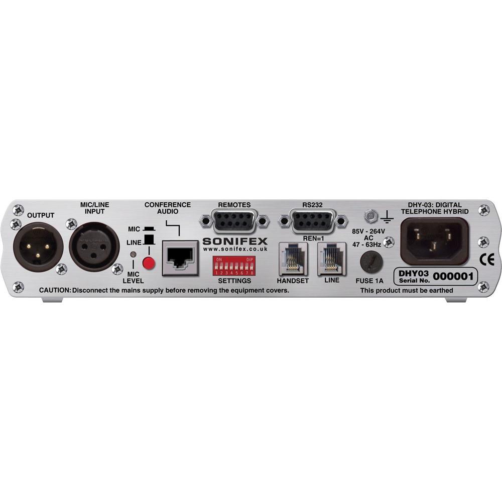 Sonifex DHY-03S Digital Telephone Hybrid