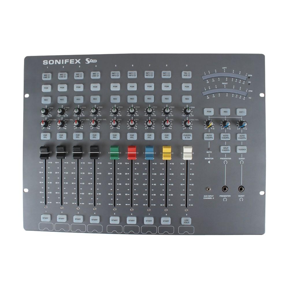 sonifex s0v2 radio broadcast mixer studiospares. Black Bedroom Furniture Sets. Home Design Ideas