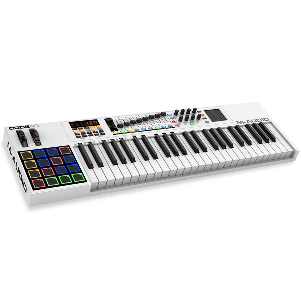 m audio code 49 usb midi keyboard synths pianos performance studiospares. Black Bedroom Furniture Sets. Home Design Ideas