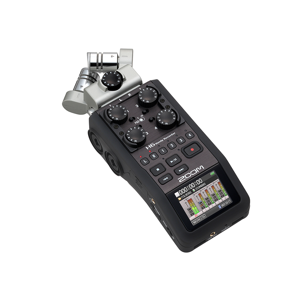 Zoom H6 Multi-Channel Handheld Recorder