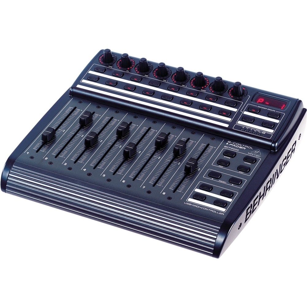 behringer b control bcf2000 fader midi controllers studio gear studiospares. Black Bedroom Furniture Sets. Home Design Ideas
