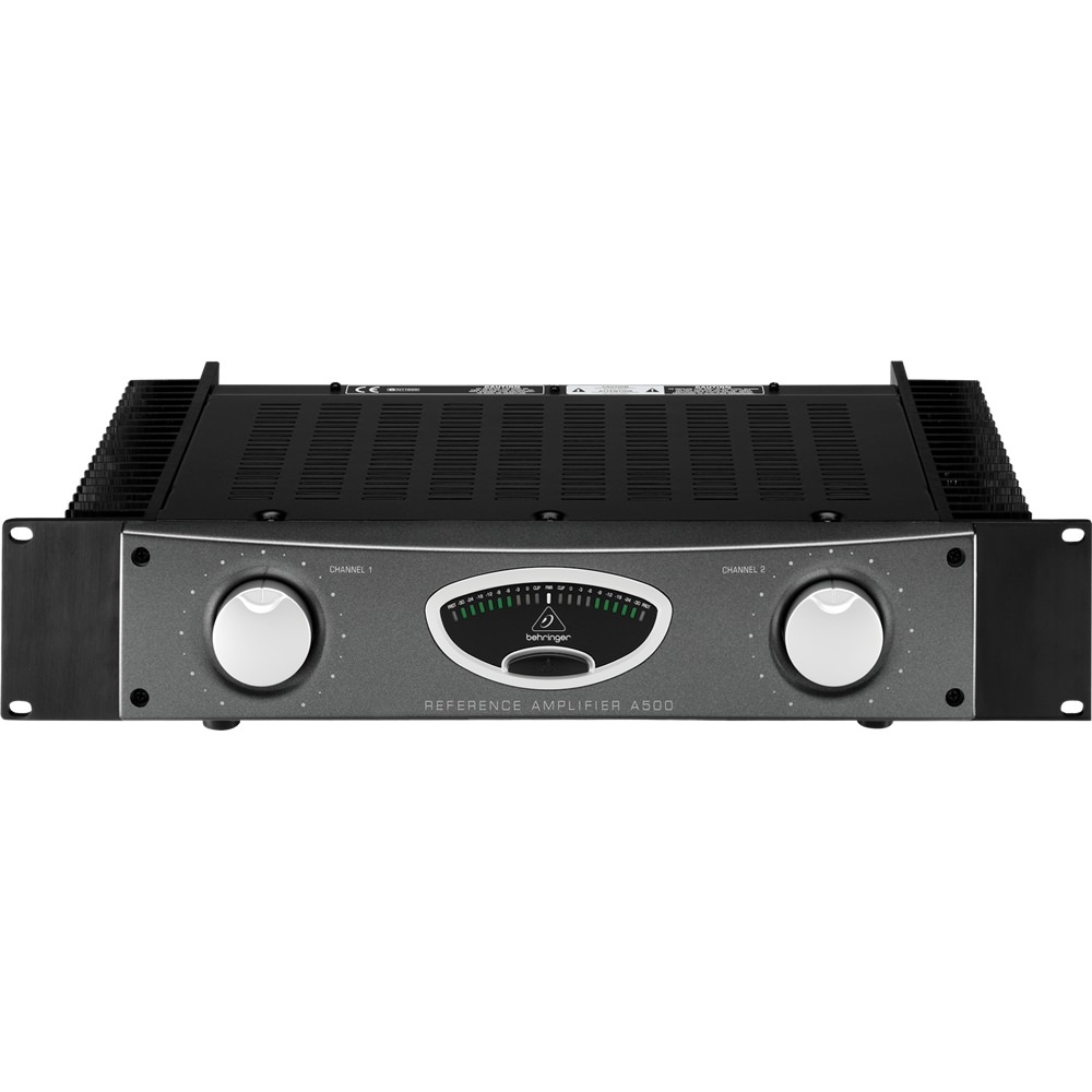 Behringer A500 Amplifier Power Amplifiers Studio Gear Studiospares 600w Audio