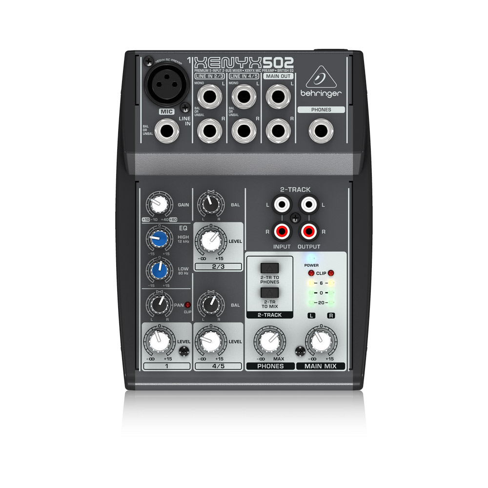 behringer xenyx 502 analogue mixers studio gear. Black Bedroom Furniture Sets. Home Design Ideas