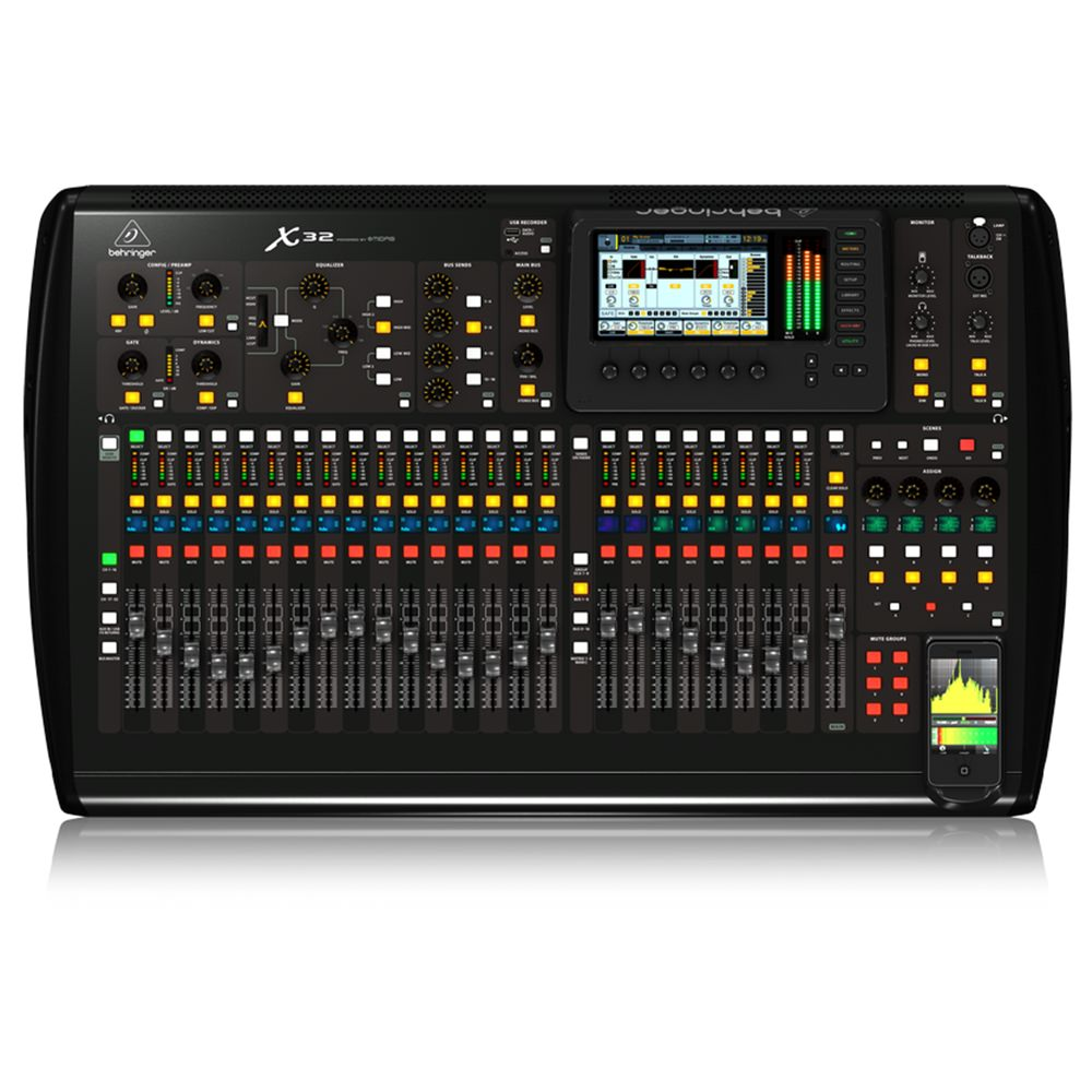 behringer x32 digital mixing desk studiospares. Black Bedroom Furniture Sets. Home Design Ideas